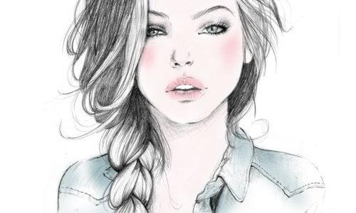 нарисованные девушки карандашом : Красивые девушки.